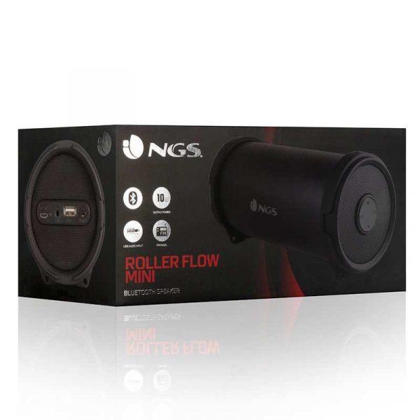 altavoz musica universal bluetooth marca ngs roller flow mini 10w