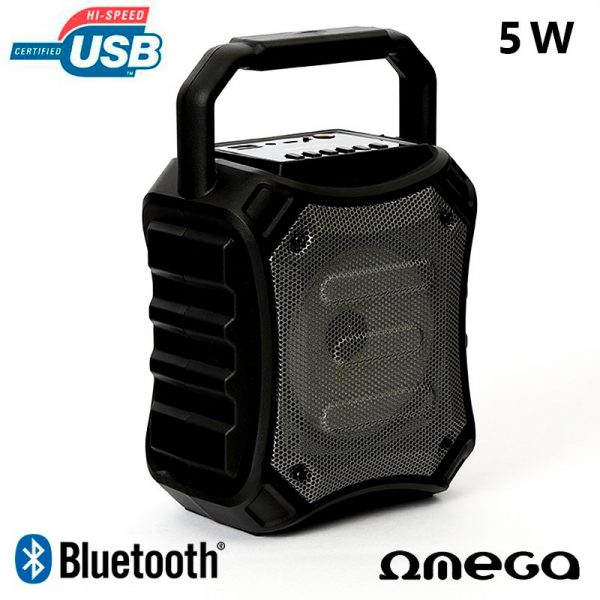 Altavoz Música Universal Bluetooth Marca Omega Party (5W) 1