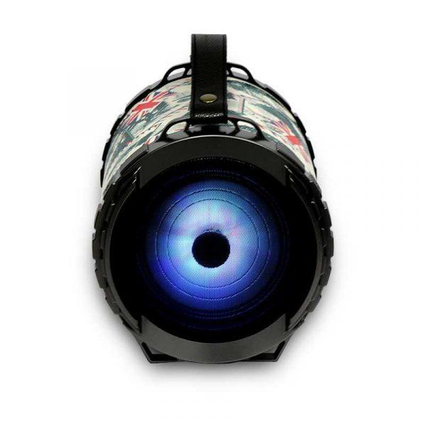 altavoz musica universal bluetooth omega bazooka 20w