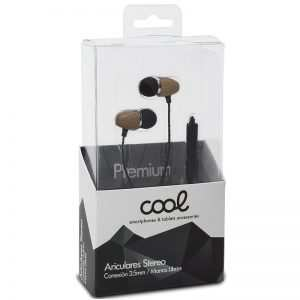 auriculares 35 mm stereo con micro madera natural 1