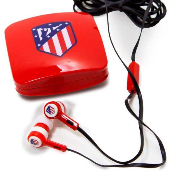 Auriculares 3,5 mm Stereo Licencia Fútbol Atlético de Madrid 2