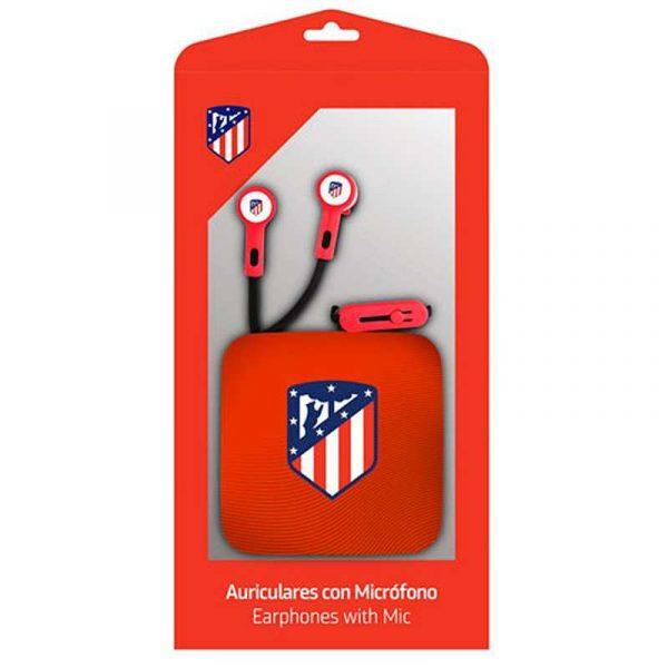Auriculares 3,5 mm Stereo Licencia Fútbol Atlético de Madrid 3