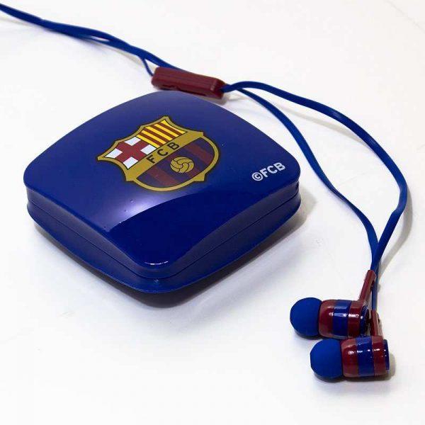 Auriculares 3,5 mm Stereo Licencia Fútbol F.C. Barcelona 2