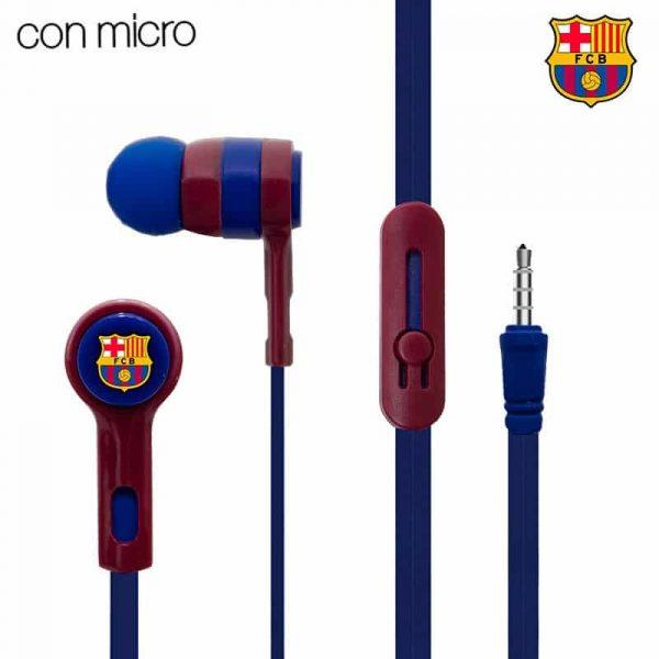 Auriculares 3,5 mm Stereo Licencia Fútbol F.C. Barcelona 1