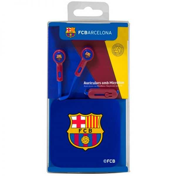 Auriculares 3,5 mm Stereo Licencia Fútbol F.C. Barcelona 3