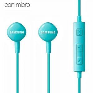 auriculares 35 mm universal original samsung azul jack 35mm con blister