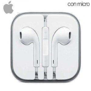 auriculares apple jack 35 mm original iphone 5 5s 6 6 plus sin blister 1