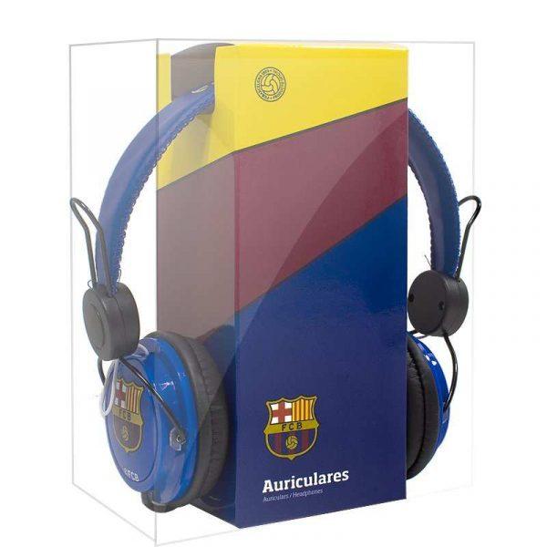 Auriculares Cascos Jack 3,5 mm Licencia Fútbol F.C. Barcelona 2