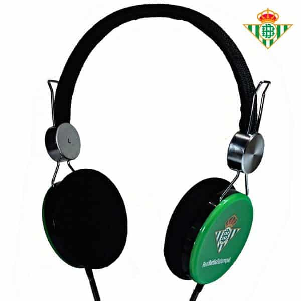 auriculares cascos jack 35 mm licencia futbol real betis 2