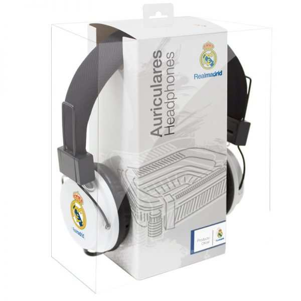 auriculares cascos jack 35 mm licencia futbol real madrid cf 1