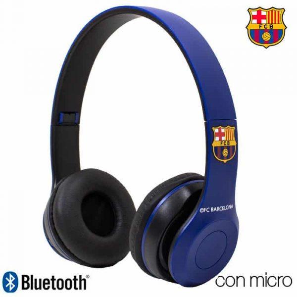 auriculares stereo bluetooth cascos licencia futbol fc barcelona 2