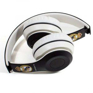 auriculares stereo bluetooth cascos licencia futbol real madrid cf 1