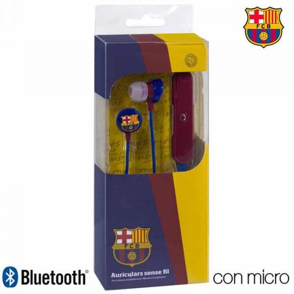 auriculares stereo bluetooth deportivos universal licencia futbol fc barcelona 1
