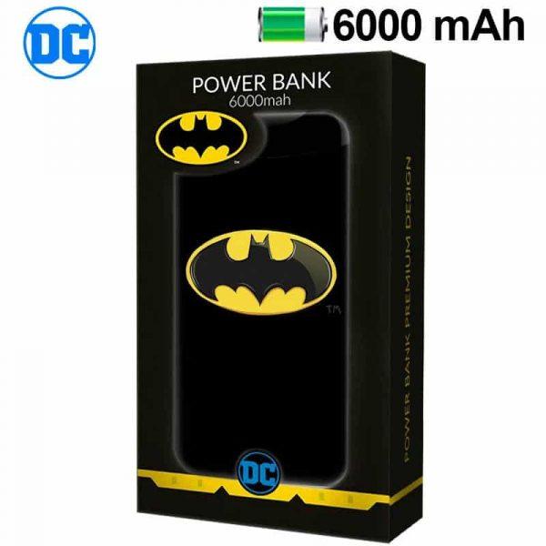 bateria externa micro usb power bank 6000 mah licencia dc batman2