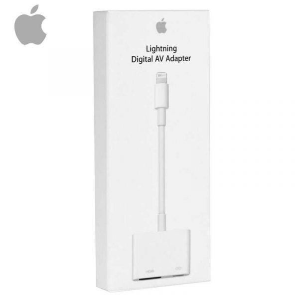 cable hdmi adaptador original lighting iphone 6 iphone 7 iphone 8 ipad con blister