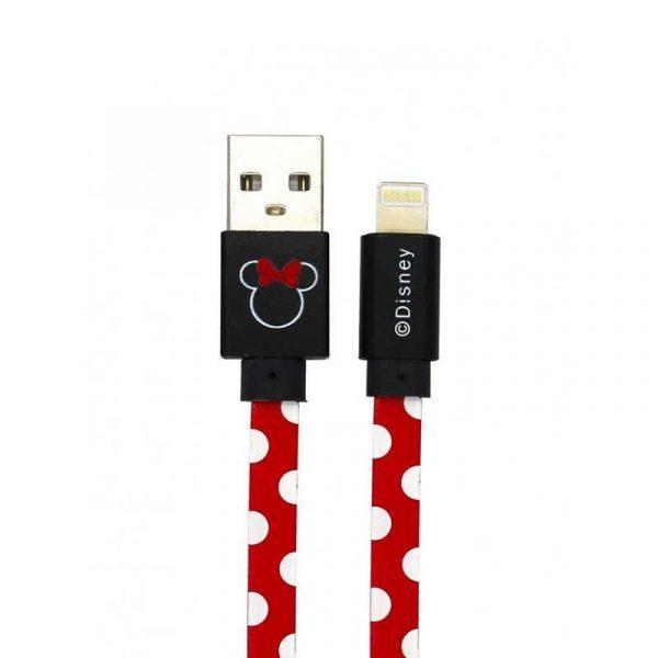 cable usb licencia disney lightning iphone 6 7 8 x