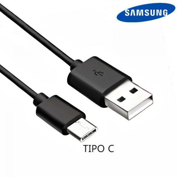 Cable USB Original Samsung Universal TIPO C Negro (Sin Blister) 1