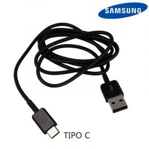 Cable USB Original Samsung Universal TIPO C Negro (Sin Blister) 3