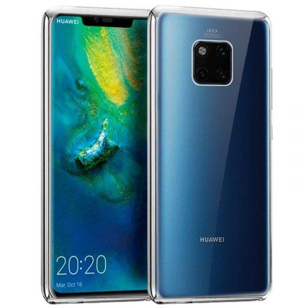 Carcasa Huawei Mate 20 Pro Borde Metalizado (Plata) 1
