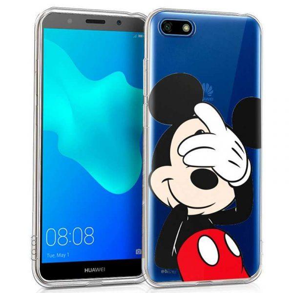 Carcasa Huawei Y5 (2018) / Honor 7S Licencia Disney Clear Mickey 1