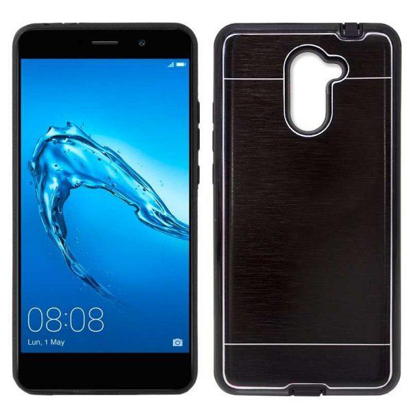 Carcasa Huawei Y7 Aluminio Negro 1