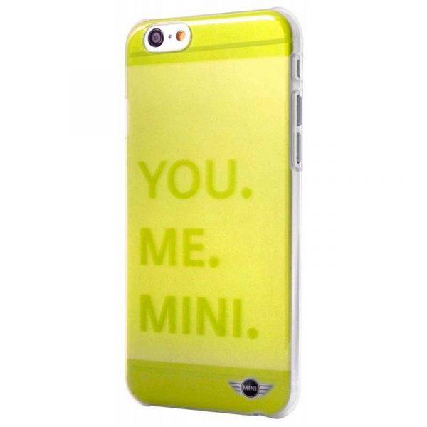 carcasa iphone 6 6s licencia mini cooper letras verde 1