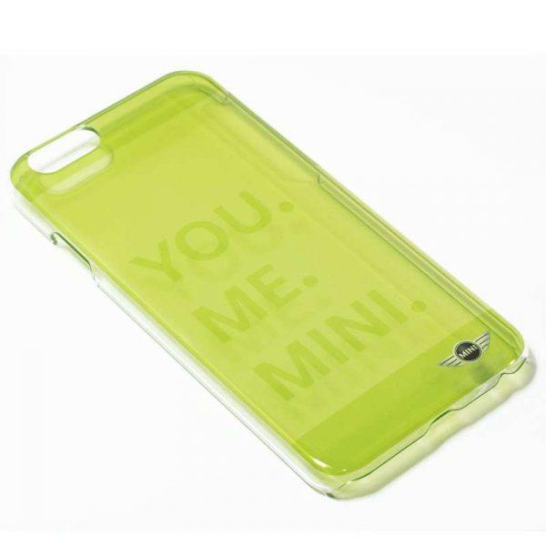 carcasa iphone 6 6s licencia mini cooper letras verde