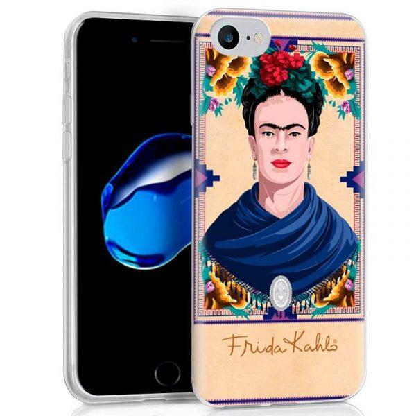 Carcasa iPhone 7 / iPhone 8 / SE 2020 Licencia Frida Kahlo Woman 1