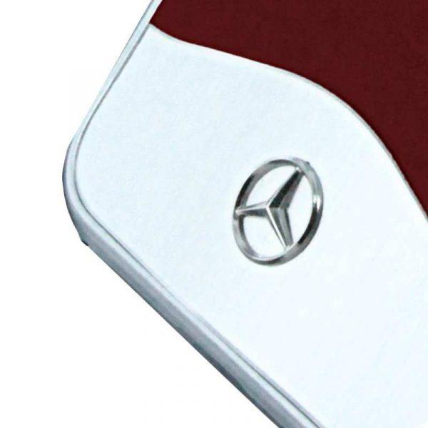 Carcasa iPhone 7 / iPhone 8 / SE 2020 Licencia Mercedes-Benz Aluminio Rojo 3