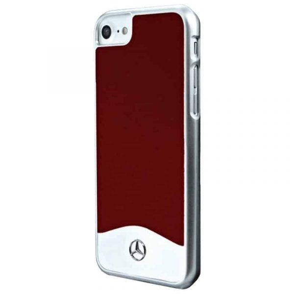Carcasa iPhone 7 / iPhone 8 / SE 2020 Licencia Mercedes-Benz Aluminio Rojo 2