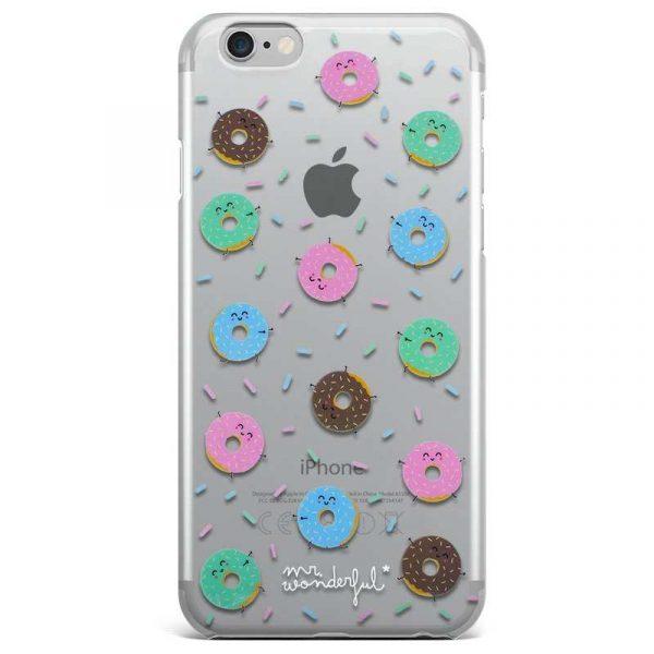 Carcasa iPhone 7 / iPhone 8 / SE 2020 Licencia Mr Wonderful Donuts 1