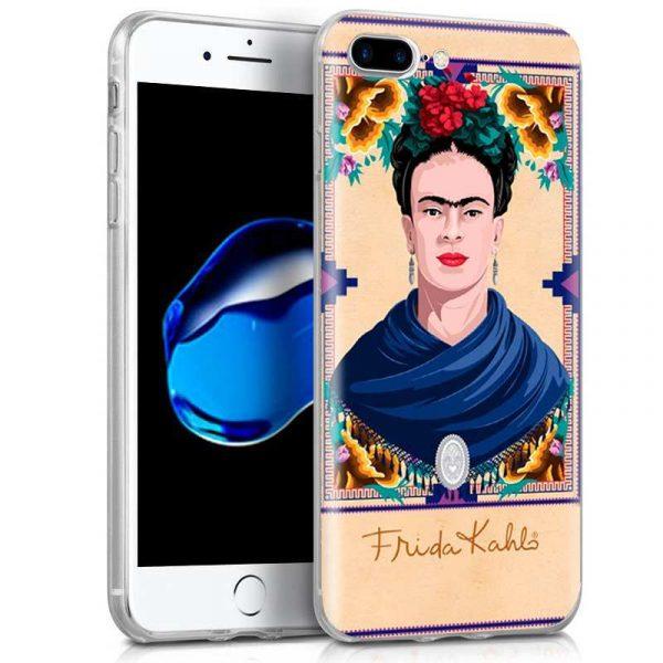 carcasa iphone 7 plus iphone 8 plus licencia frida kahlo woman