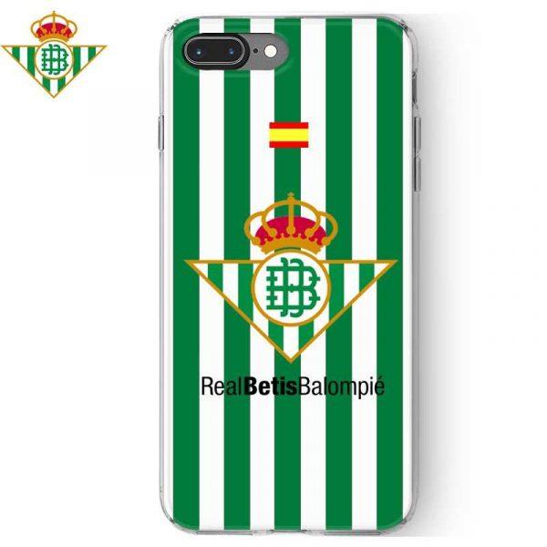 Carcasa iPhone 7 Plus / iPhone 8 Plus Licencia Fútbol Real Betis 1