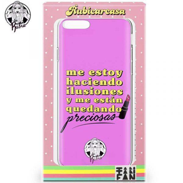 carcasa iphone 7 plus iphone 8 plus licencia la vecina rubia pinta labios