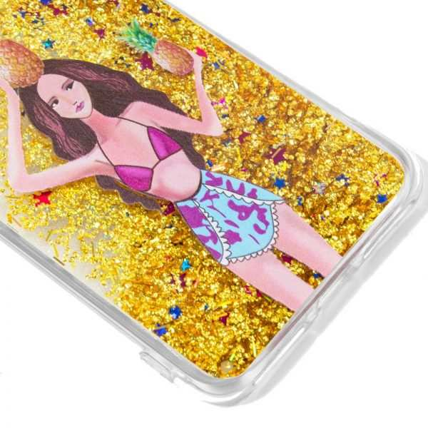 Carcasa iPhone X / iPhone XS Glitter Piñas 2