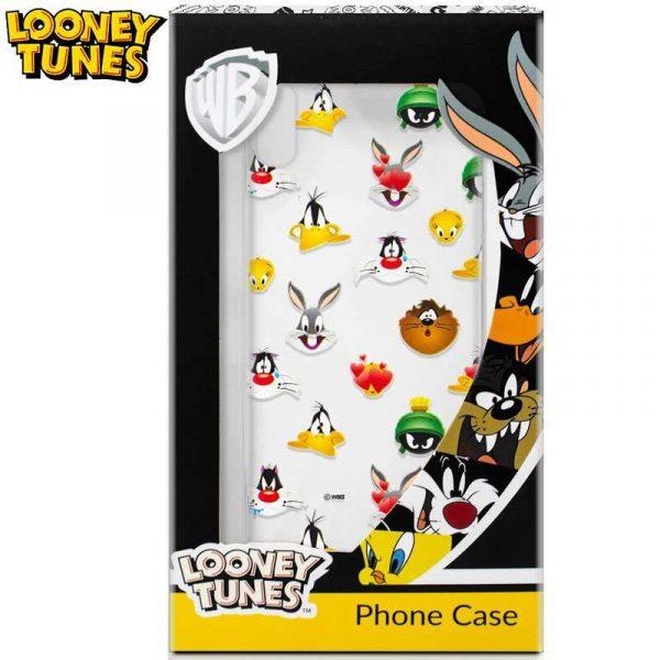 Carcasa iPhone X / iPhone XS Licencia Looney Tunes Caras 1