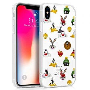 Carcasa iPhone X / iPhone XS Licencia Looney Tunes Caras 3