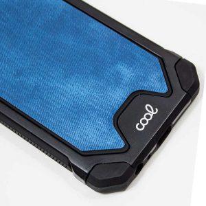 Carcasa iPhone XR Hard Tela Azul 3