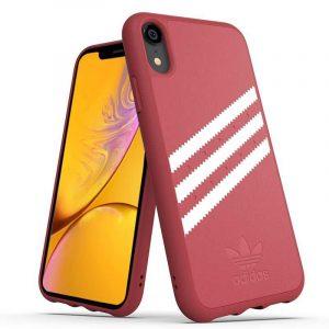 Carcasa iPhone XR Licencia Adidas Stripes Rosa 3