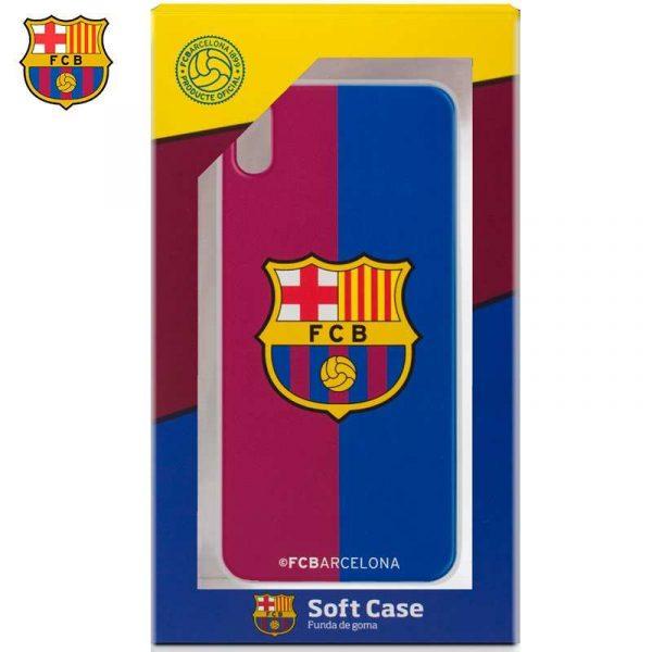 Carcasa iPhone XR Licencia Fútbol F.C. Barcelona Blaugrana 1