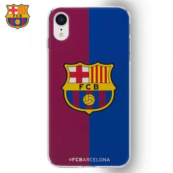 Carcasa iPhone XR Licencia Fútbol F.C. Barcelona Blaugrana 2