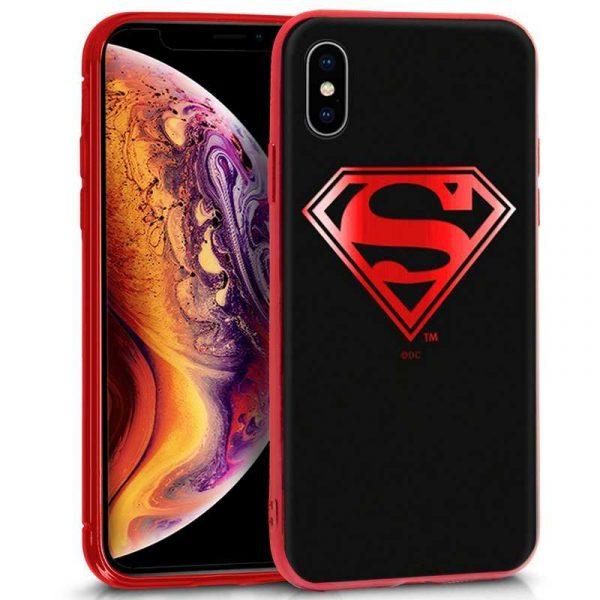 carcasa iphone xs max licencia dc superman
