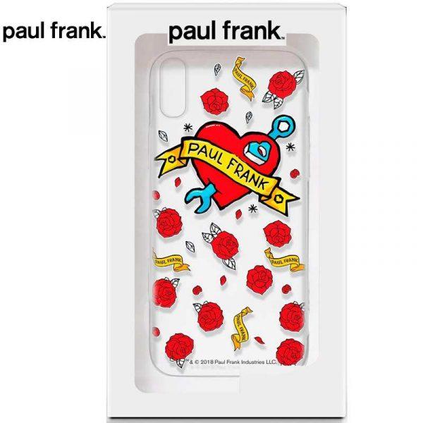 carcasa iphone xs max licencia paul frank tattoo 1