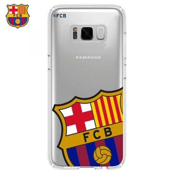 carcasa samsung g950 galaxy s8 licencia futbol fc barcelona escudo