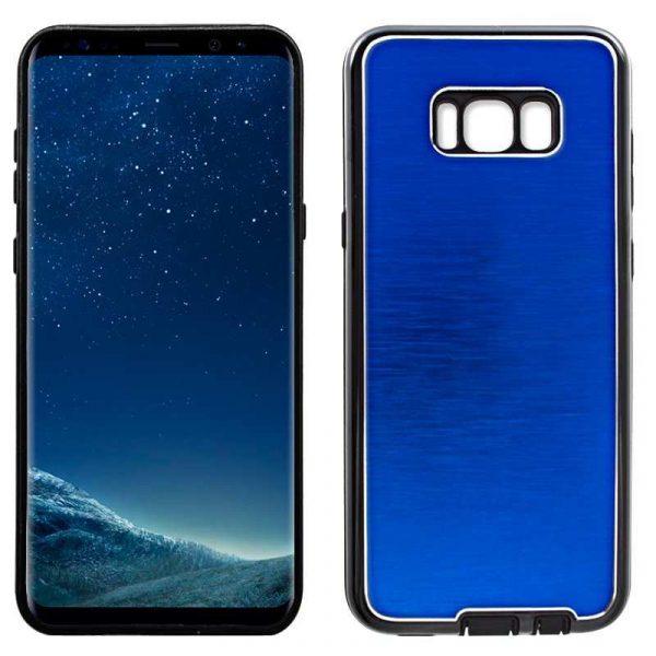 carcasa samsung g955 galaxy s8 plus aluminio azul 1
