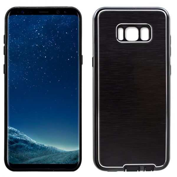 carcasa samsung g955 galaxy s8 plus aluminio negro 1