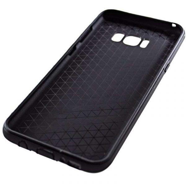 carcasa samsung g955 galaxy s8 plus aluminio negro