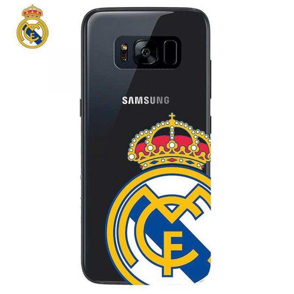 carcasa samsung g955 galaxy s8 plus licencia futbol real madrid transparente