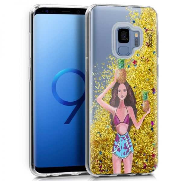 carcasa samsung g960 galaxy s9 glitter pinas