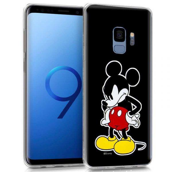 Carcasa Samsung G960 Galaxy S9 Licencia Disney Black Mickey 1